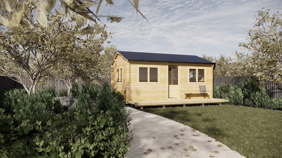 Murray 6×4 Cabin